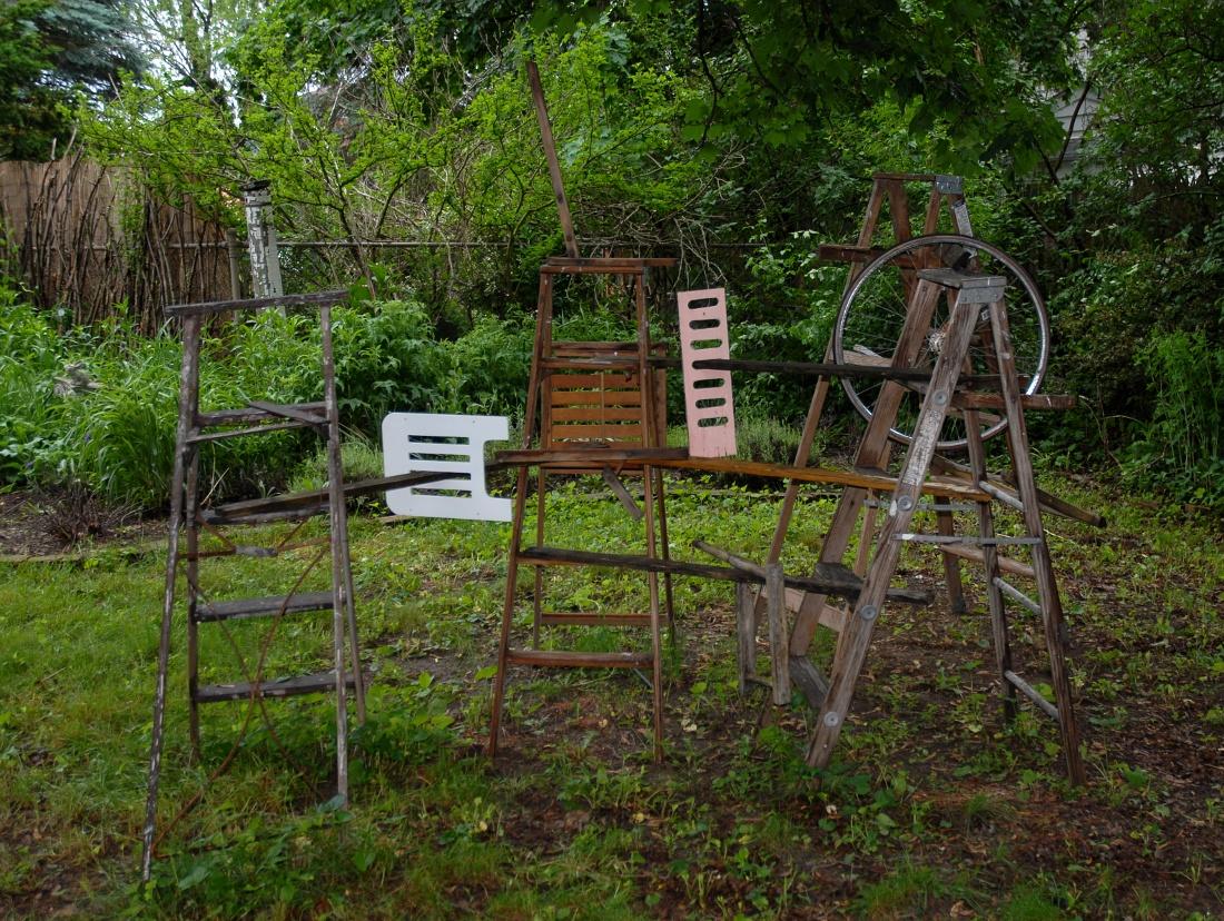 Backyard Sculpture Garden Backyard Sculpture of Stuff